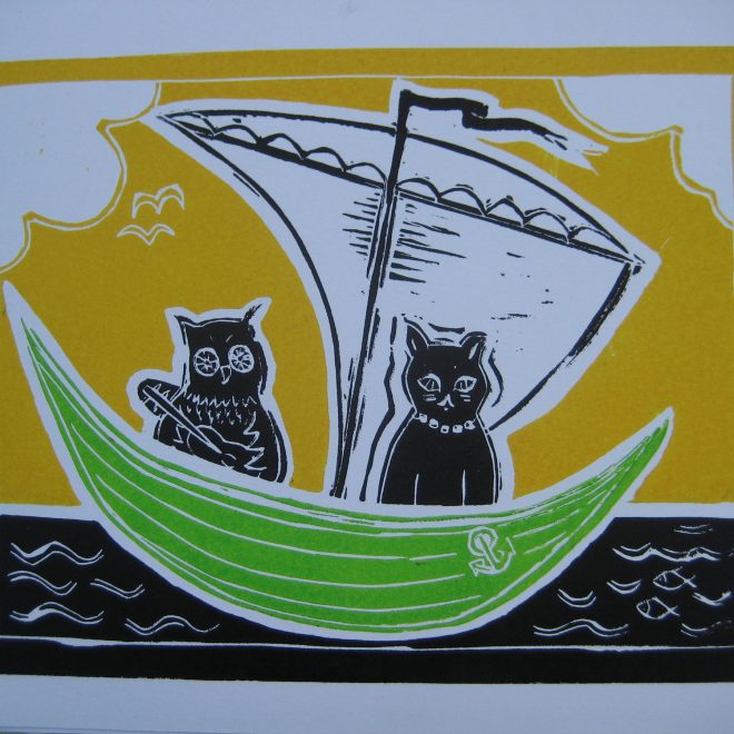 A Beautiful Pea-Green Boat (Liz Beardwell)