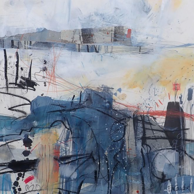 Across the dunes I (Frances Campbell)