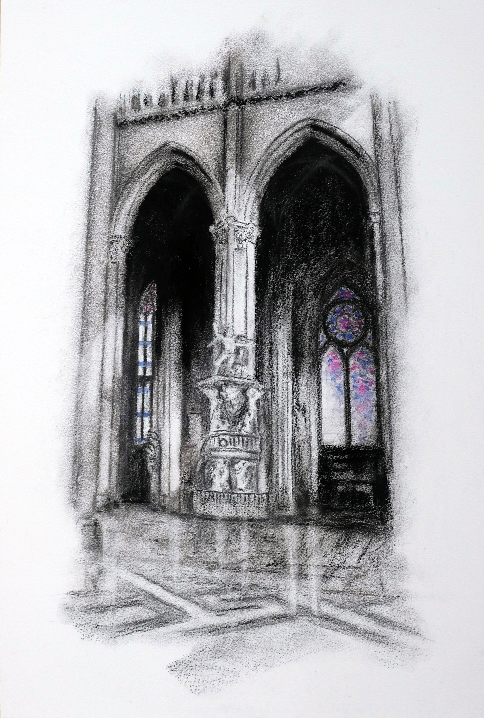 Amiens Cathedral (Ros Ridley)