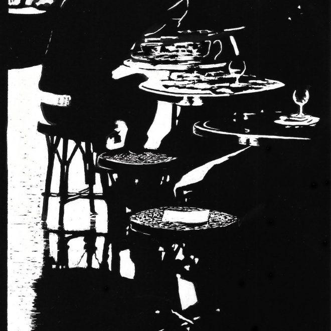 Cafe de Flore, Bl St Germain (Ros Ridley)
