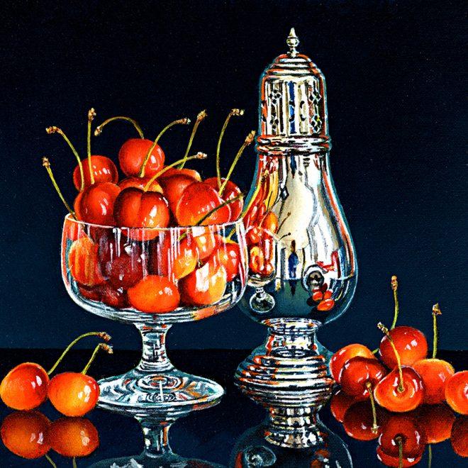 Cherries In A Glass (David John Leathers)