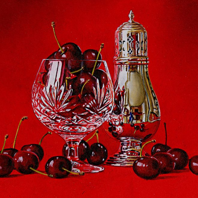 Cherries In A Goblet (David John Leathers)