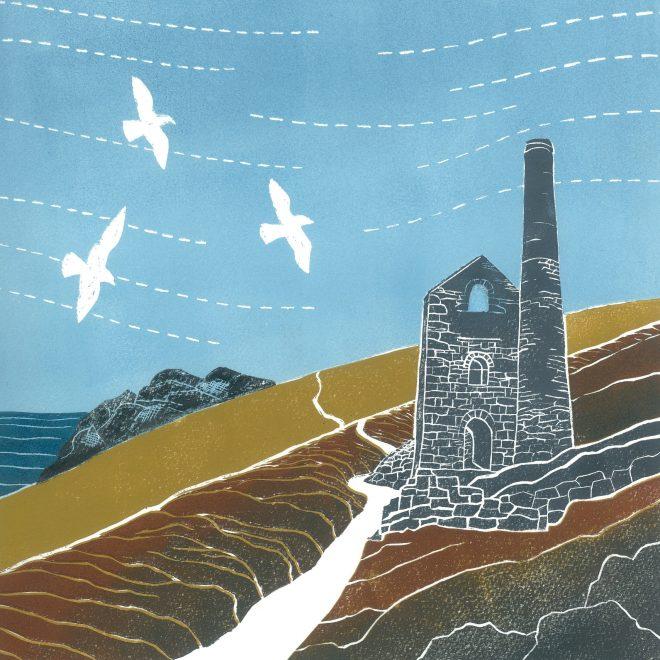 Cornish Tin Mine (Anna Pye)