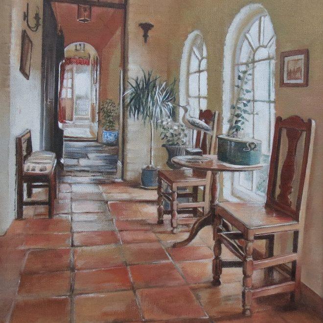 Cottage Interior (Rachel Haynes)