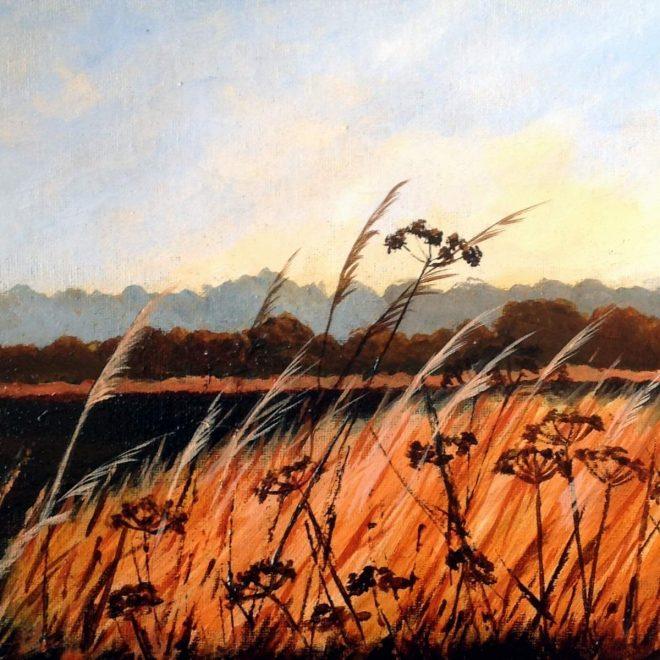 FIELDSIDE GRASS (Barbara Harlow)