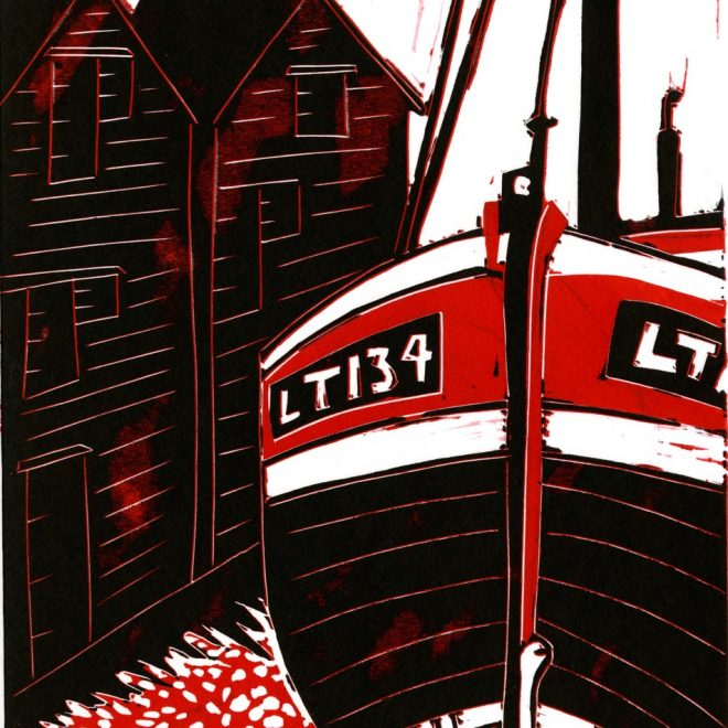 Fishing Boat (Clare Trowell)