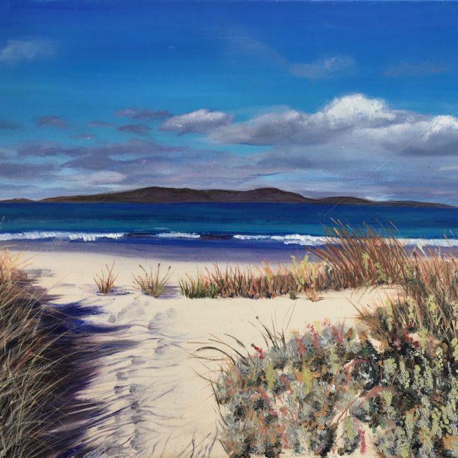 Footprints in the Sand (Gillian Coe)
