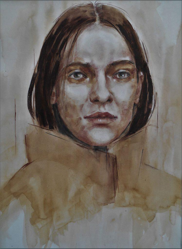 Girl in a Winter Coat (Christine Lafon)