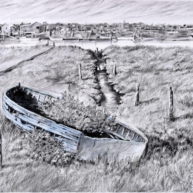 Growing Boat at Walberswick (Colin Barker)