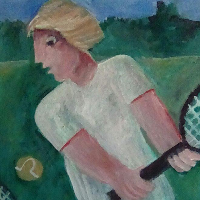 Her Best Backhand (Barbara Rogers)