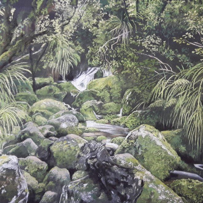 Huffam Falls New Zealand (Rachel Haynes)