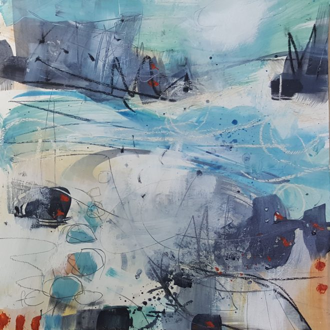 Into the waves I (Frances Campbell)