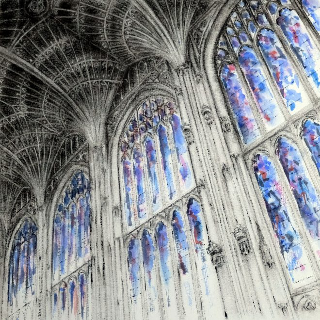 King's College Chapel, Cambridge (Ros Ridley