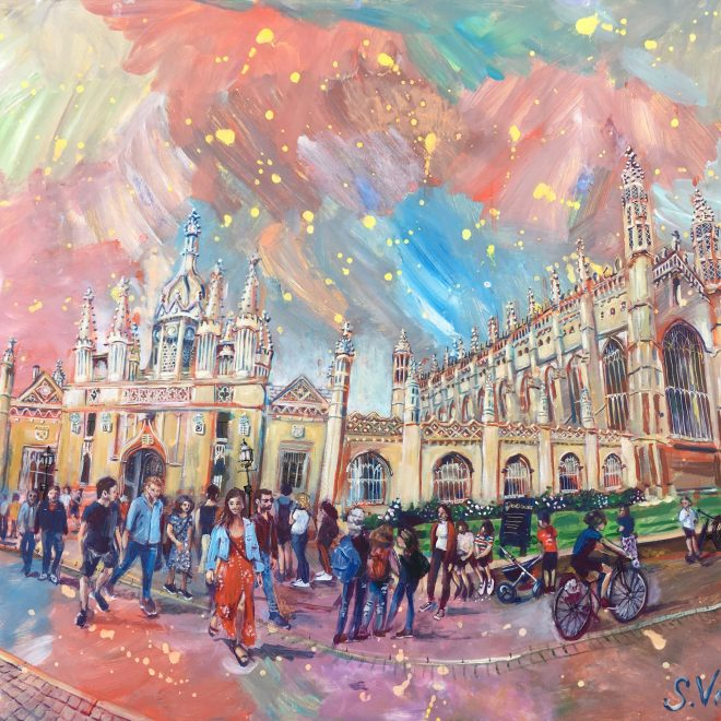 King's College Crowd (Sonia Villiers)