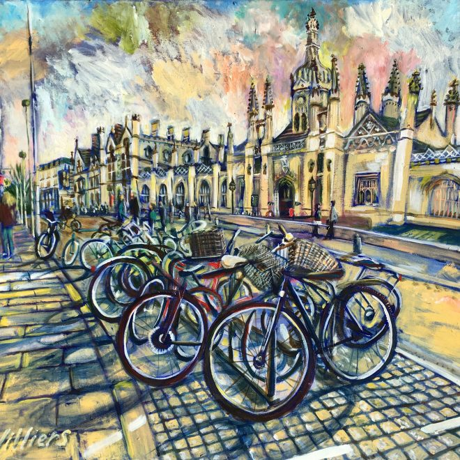 King's Parade Bicycle Sunset (Sonia Villiers)