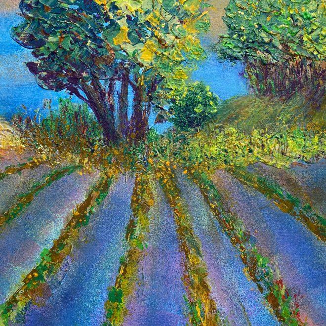 Lavender Field (Christine Wilson)