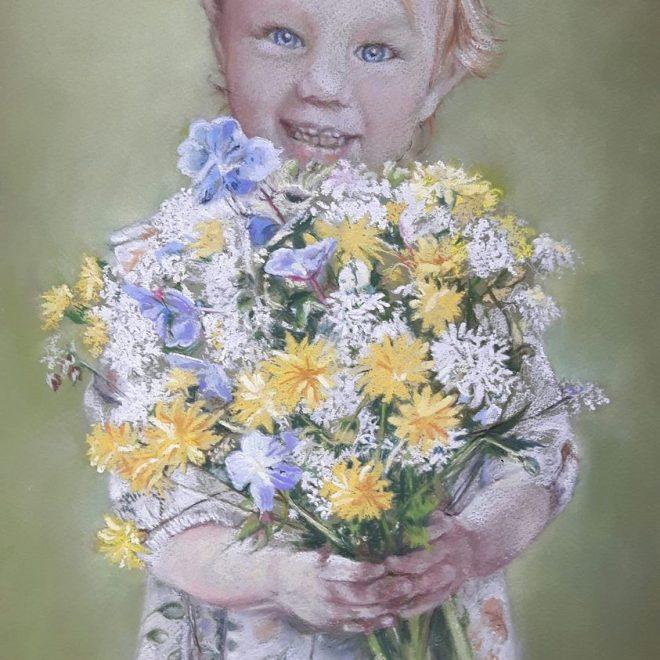 Mia's flowers(Rachel Haynes)