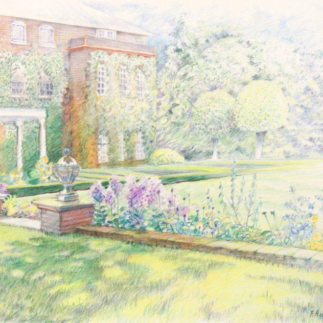 Midsummer Morning, Trumpington Hall (Ann Brown)