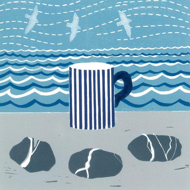 Mug and Pebbles (Anna Pye)