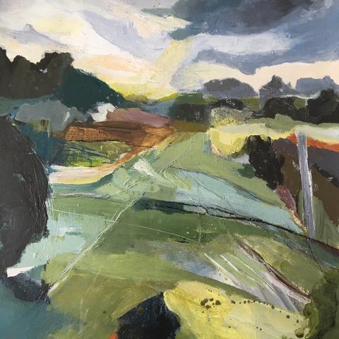 Norfolk Landscape (Binnie Macellari)