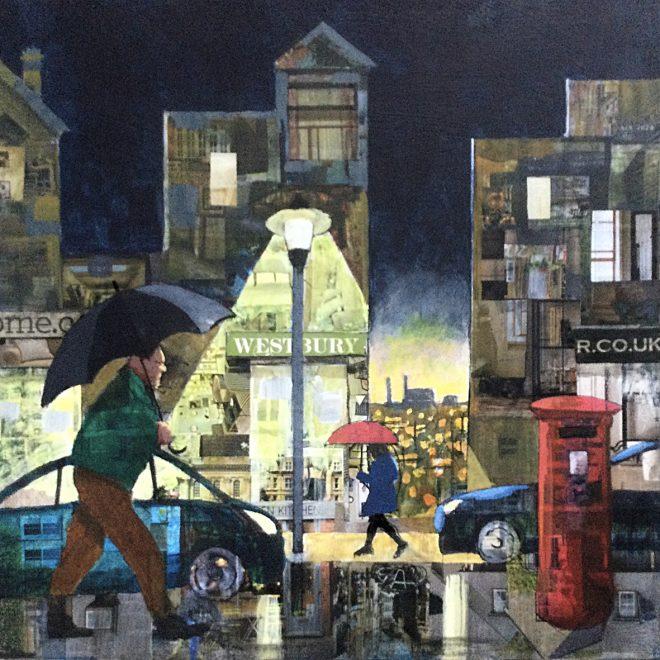 Rainy Night on the High Street (John Tordoff)