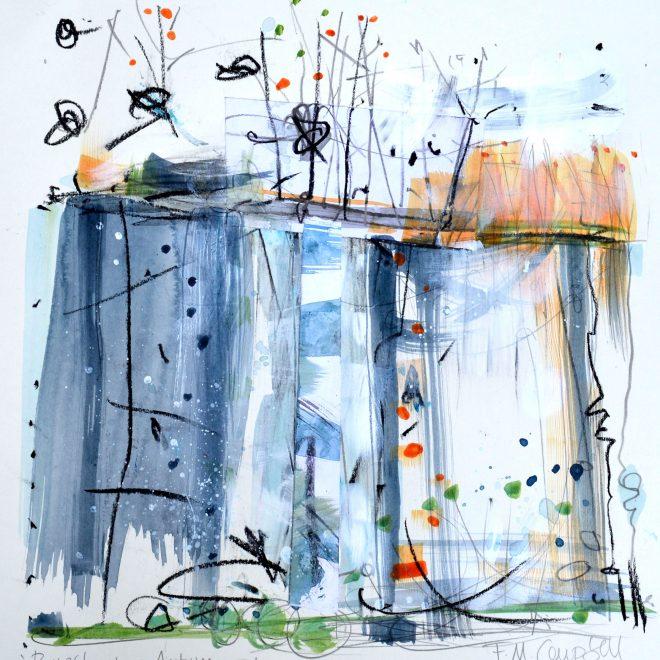 Riverbank - Autumn I (Frances Campbell)