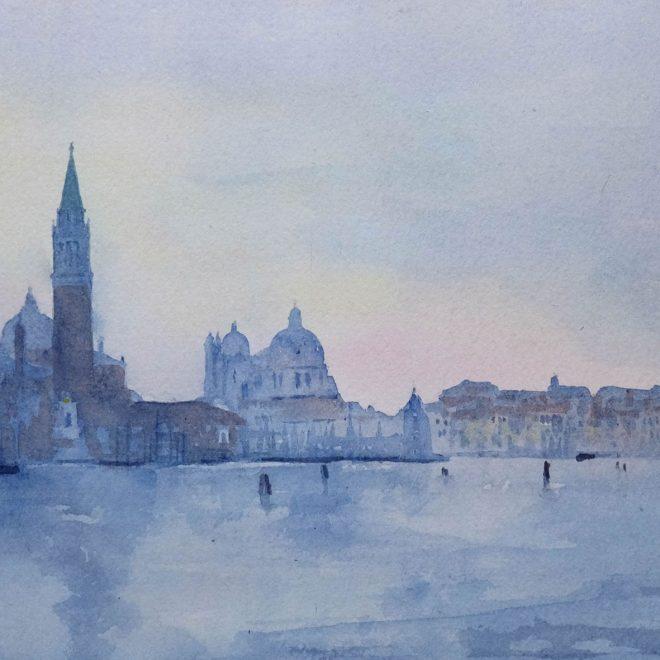 San Giorgio and San Salute, Venice (Ros Ridley)