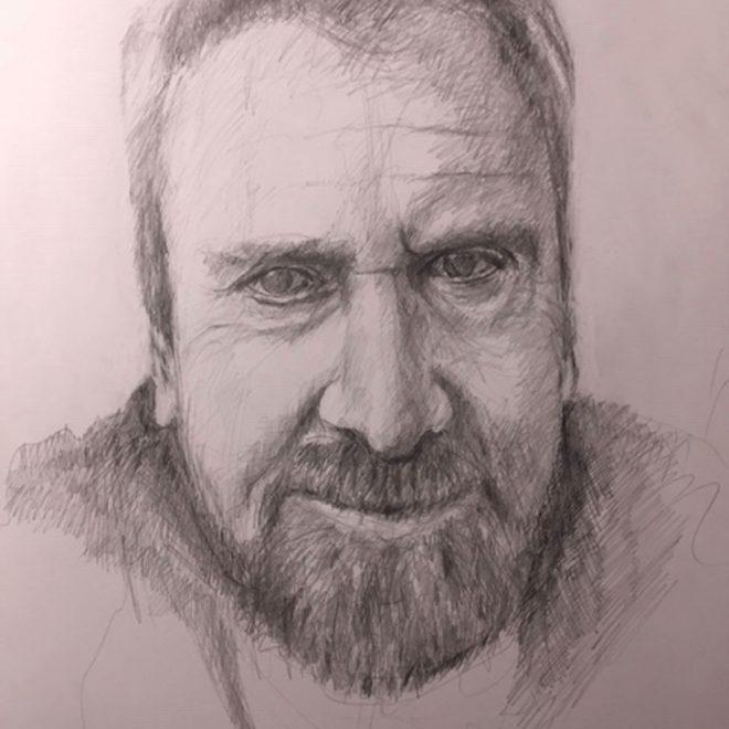 Self Portrait (Chris Hewitt)