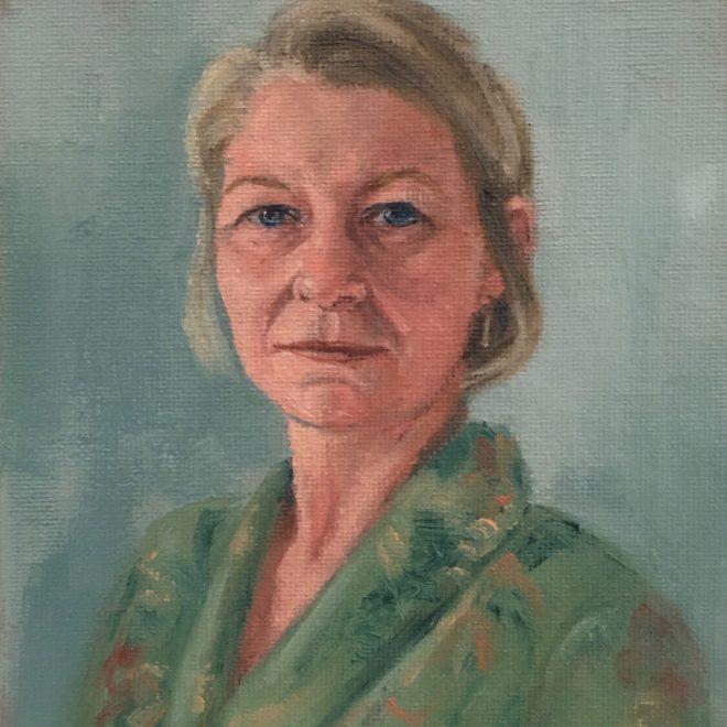 Self portrait (Diane Firth)