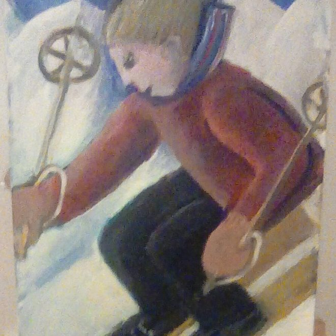 Skiing Downhill (Barbara Rogers)