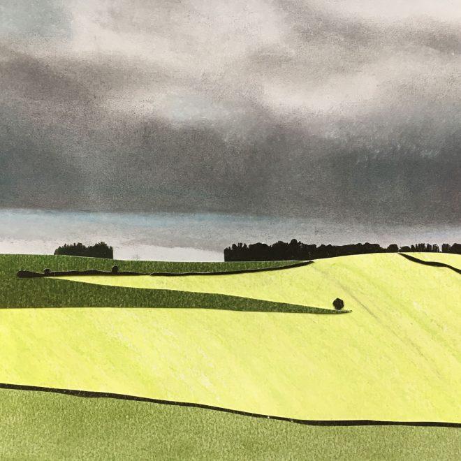 Spring Barley after the Rain (E J Taylor)