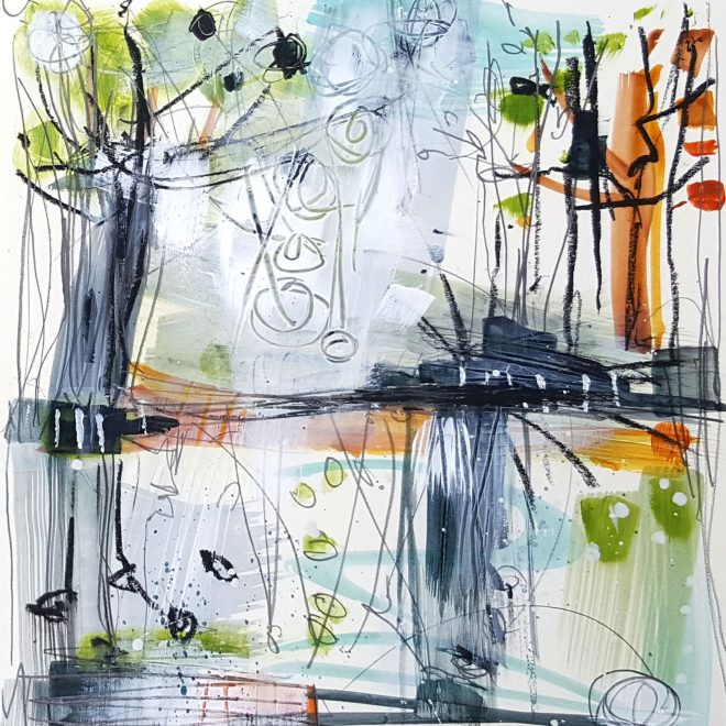 Spring-Mill Pond III (Frances Campbell)