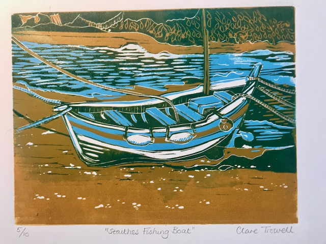 Staithes Fishing Boat (Clare Trowell)
