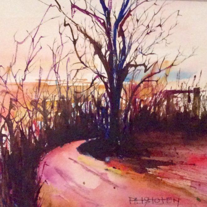 Suffolk Sunset (Pat Stoten)