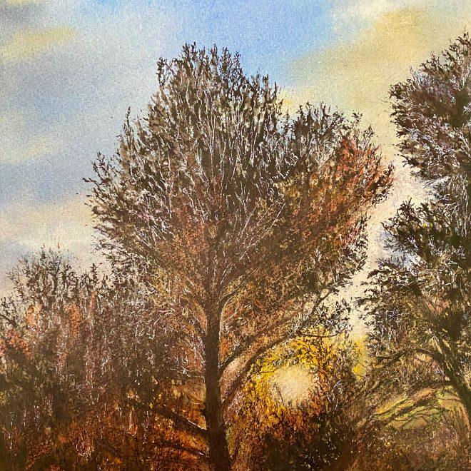 Sunset over the Mountain (Christine Wilson)