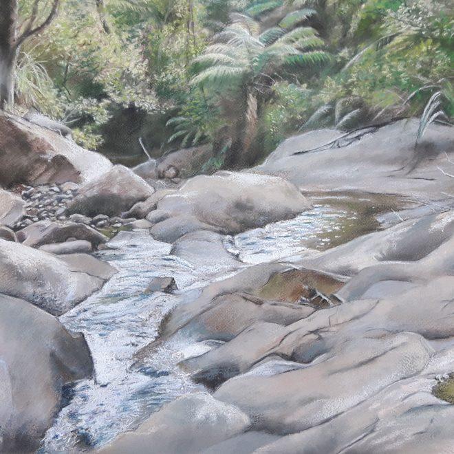 Taupo Stream New Zealand (Rachel Haynes)