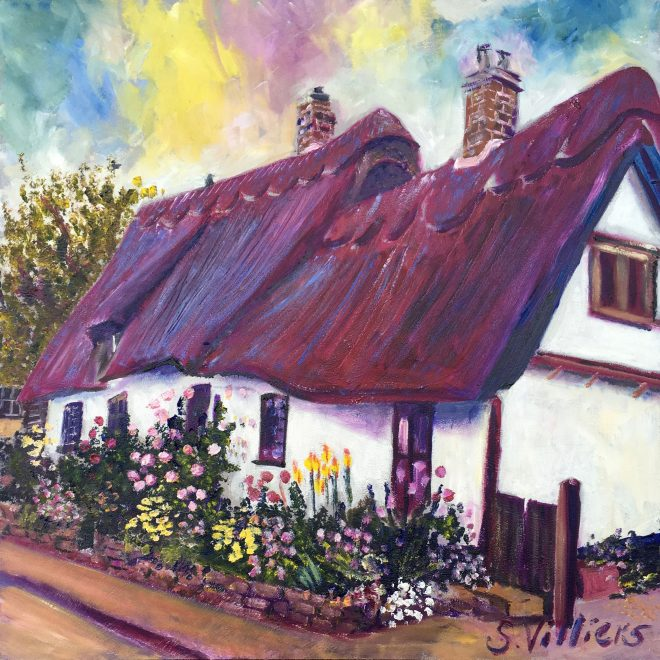 Thatch and Flowerbeds (Sonia Villiers)