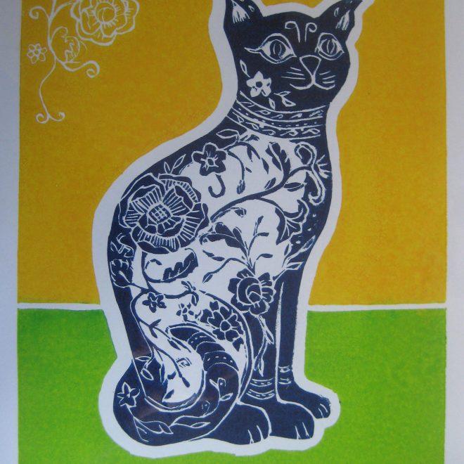 The Porcelain Cat (Liz Beardwell)