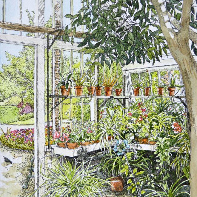 The greenhouse, Peckover (Fran Godwood)