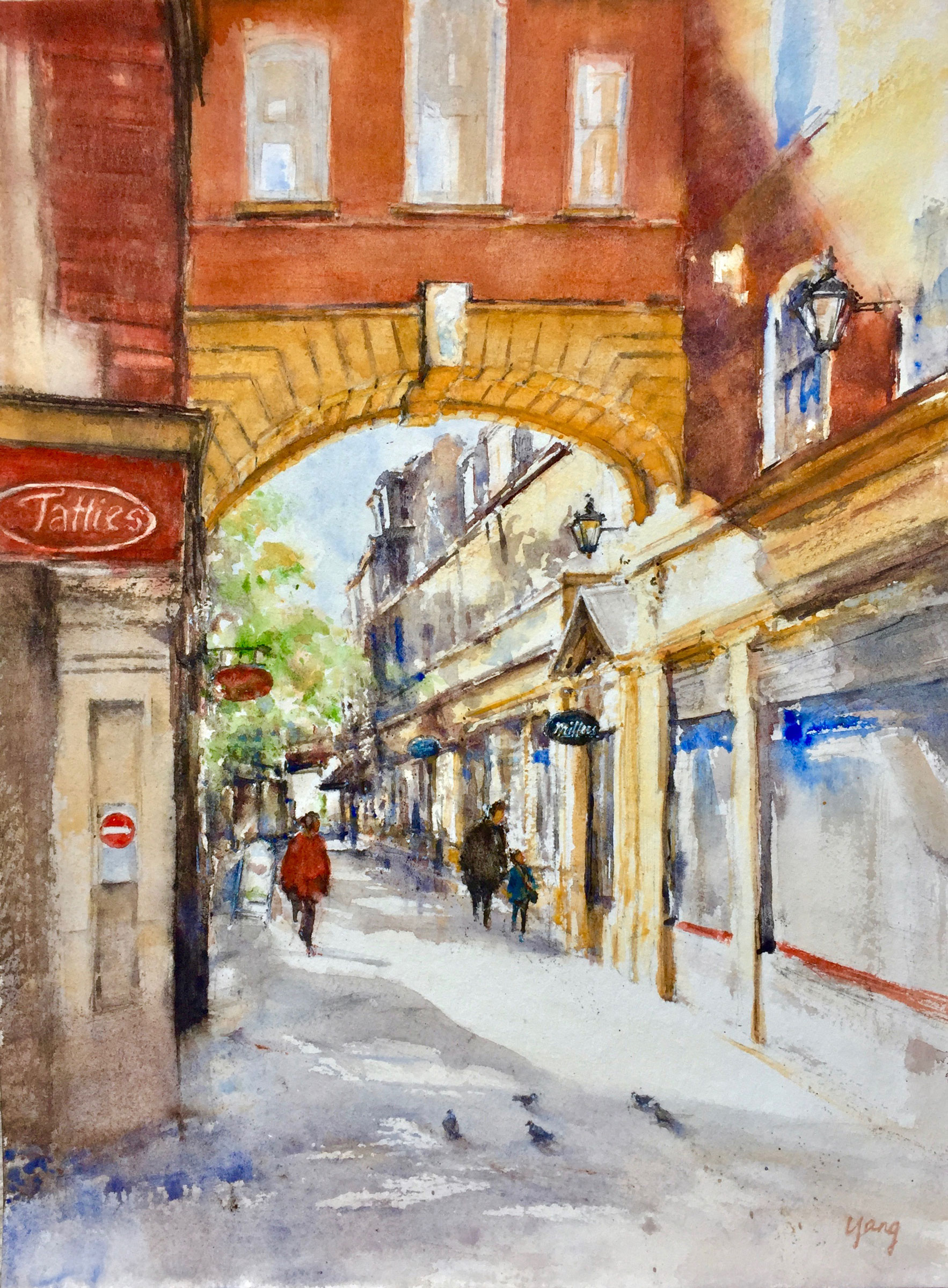 Towards Sussex Street (Yang Yuxin)