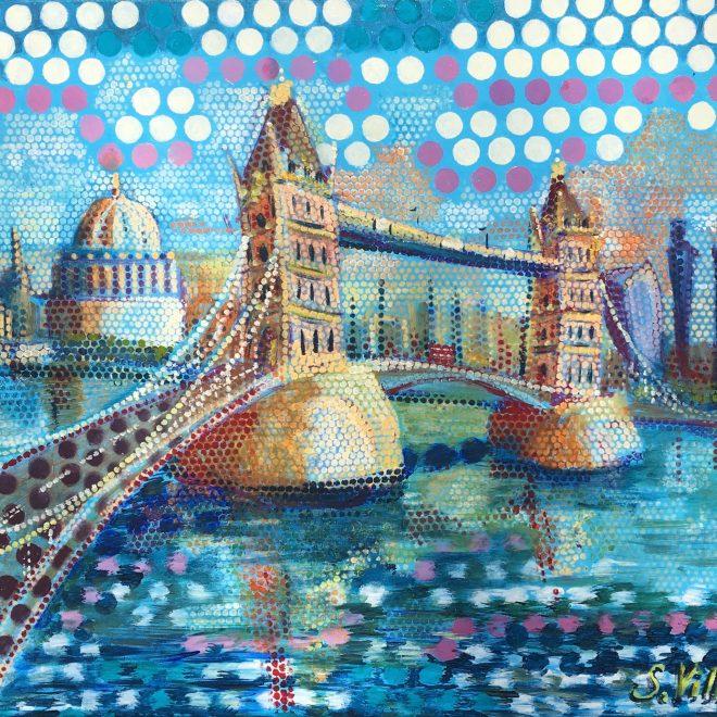 Tower Bridge Sunny Pop (Sonia Villiers)