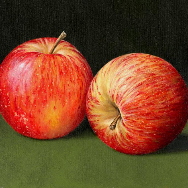 Two Apples (David John Leathers)
