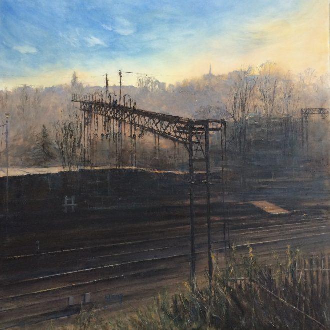View from Kings Heath Train Depot (Yang Yuxin)