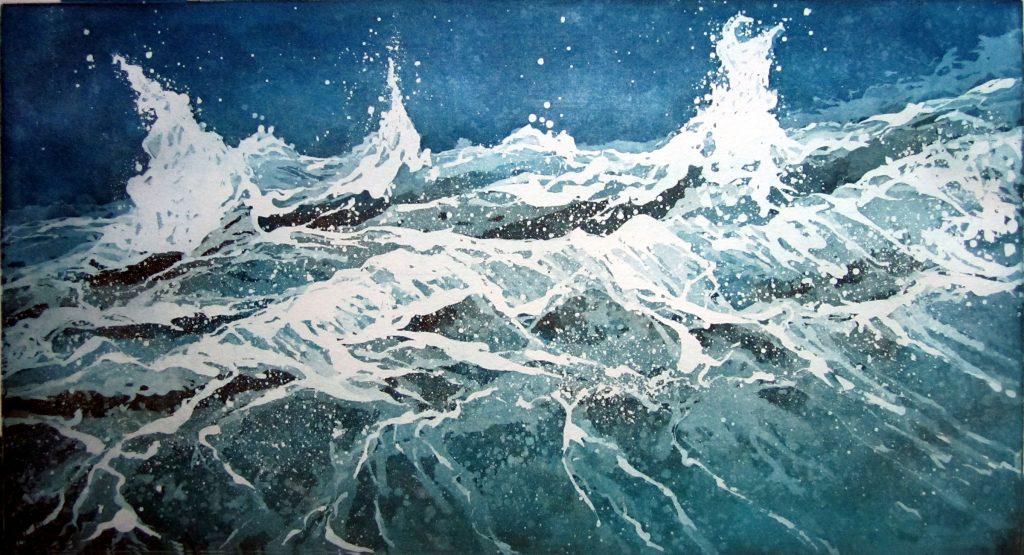 Waves, Stormy Seas Ann Massing)