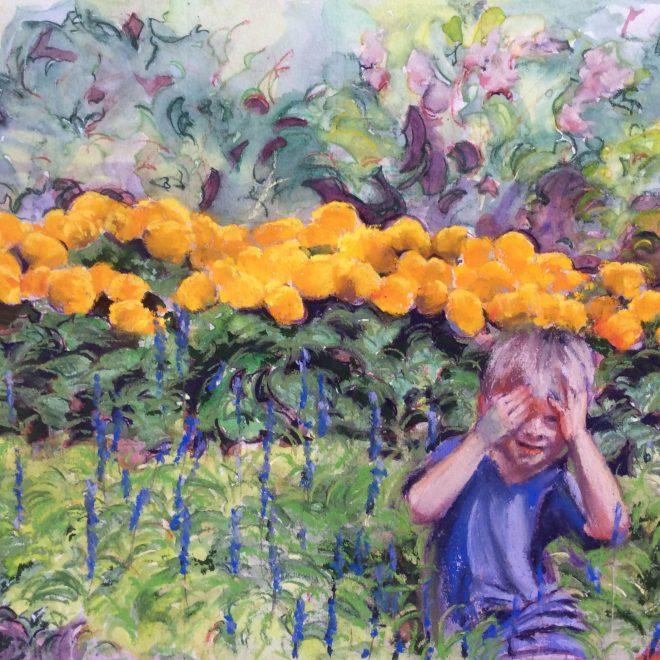 Yellow-Yellow Flowers (Francesca Gagni)-(Francesca-Gagni)