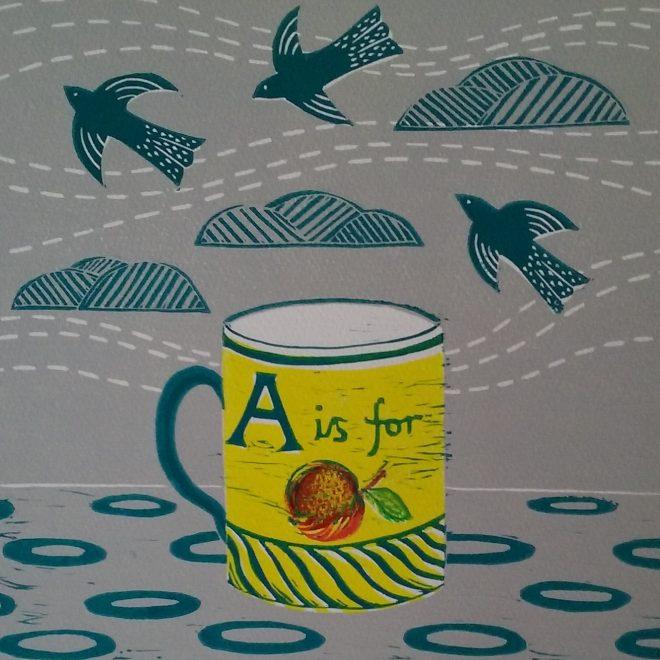 Yellow Mug (Anna Pye)