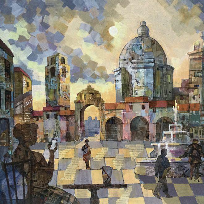coffee in the piazza (John Tordoff)