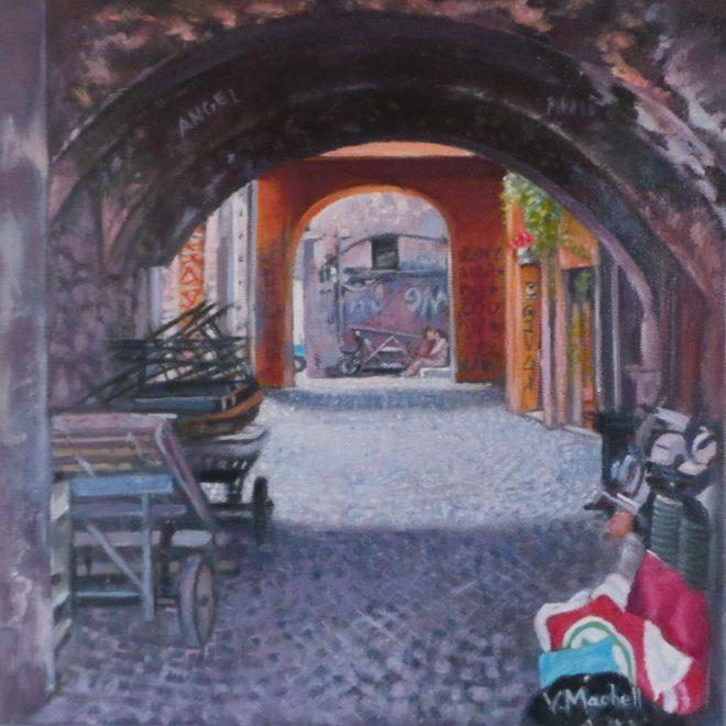 Back Street Rome (Vivienne Machell)