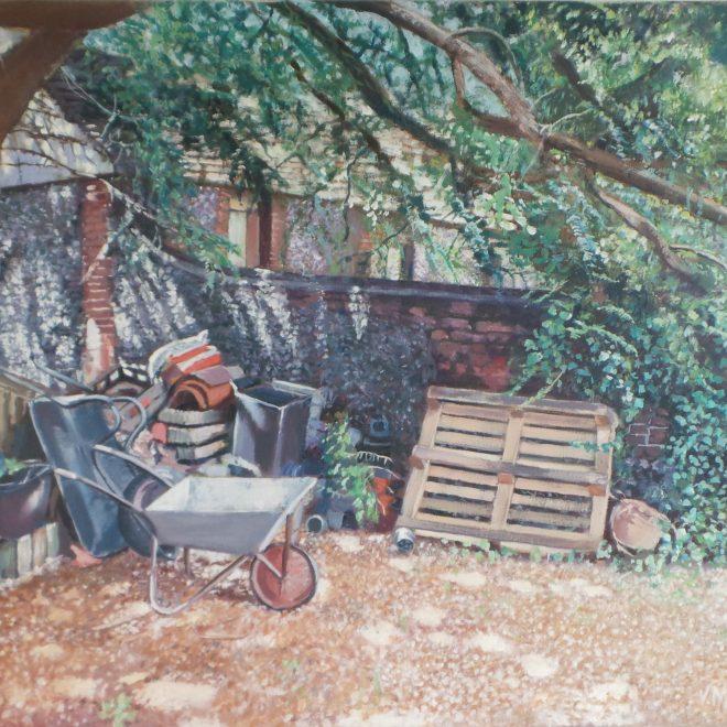 Emad's Back Garden (Vivienne Machell)