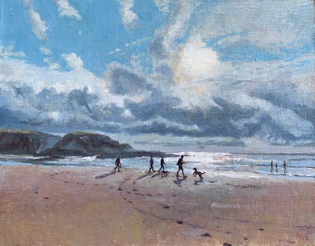 Evening Walk, Treyarnon (Katherine Firth)
